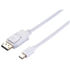 blupeak-2m-mini-displayport-male-to-displayport-male-cable-(lifetime-warranty)-mddp02
