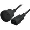 blupeak-25cm-power-cable-c14-male-to-3pin-au-female-pc143p25