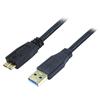 blupeak-3m-usb-3.0-superspeed-cable-usb-a-male-to-micro-usb-male-(lifetime-warranty)-u3am03