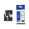 12mm-blk-on-white-flexible-tz-tape-tzefx231